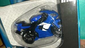 1/18 Yamaha YZF- R6 Blue 2002 ultra rare