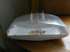 Vintage 1950s sandwich keeper cake holder