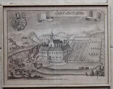 Kupferstich von Michael Wening um 1750 -  Schloß Grafenwiesen  (# 3344)