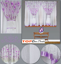 Amazing Stunning Voile Net Curtains Ready Made Bedroom Living Dining Room Modern