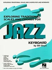 Exploring Traditional Scales and Chords for Jazz Keyboard - Instructi 000290065