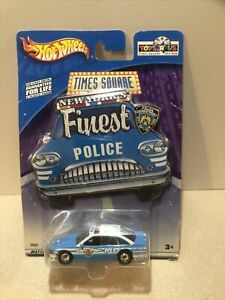 Hot Wheels Times Square New York's Finest Police Car