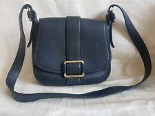 Michael Kors Real Strong Leather Black Medium Sized Cross Body Shoulder bag