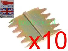 "10 x FOOTPRINT Heavy Duty Scutch Chisel Combs 25mm (1"") Wide Comb"