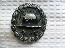 Original rare type german soldier war wounds badge ww2 wwII wound medal 01302
