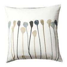 "Ikea SKOGSNÄVA Cushion Cover Gray Beige Cotton 20x20"" New Skogsnava Pillow Cover"