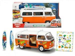 Dickie 203776001 - Surfer Van VW Bus Bully orange * NEU & OVP *