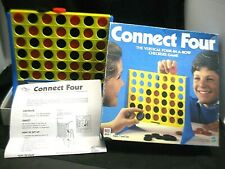 Milton Bradley 1998 Connect Four 2 Player Board Game 100% Complete Hasbro #4430