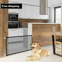 Magic Safe Dog Gate Ingenious Mesh Dog Fence For Indoor and Outdoor