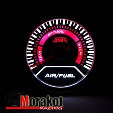 "Jdm Sport 2"" inch 52mm Air Fuel Ratio Led Display Gauge Smoke Tint Lens"