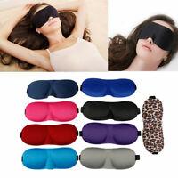 3D Augenmaske Shade Cover Augenklappe Augenbinde Schild Reise Schlafhilfe Yd