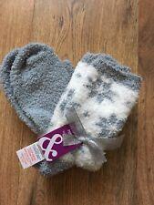 💕Gorgeous BNWT  Snowflake Christmas Socks  Supersoft  & warm 💕