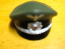 """GERMAN WWII WHERMACHT OFFICERS CAP  COTSWOLD ELITE BRIGADE 12"""""""