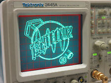 TEKTRONIX 2445A Oscilloscope Oszilloskop 150MHz + Tastköpfe