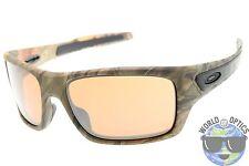 Oakley Turbine Sunglasses OO9263-28 Woodland Camo w/ VR28 Black Iridium Lens