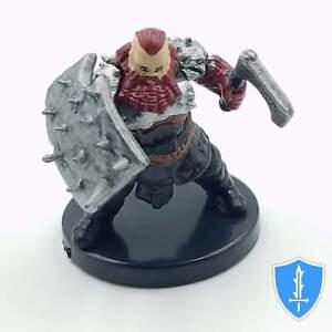 Dwarf Barbarian - Dungeons Deep #21 Pathfinder Battles D&D Miniature