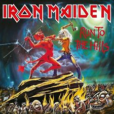 IRON MAIDEN Run to the Hills BANNER HUGE 4X4 Ft Tapestry Fabric Poster album art