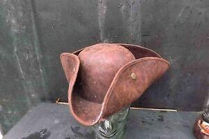 Georgian leather mans hat