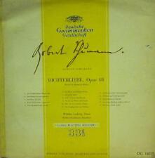 """Schumann (10"""" Vinyl)Dichterliebe Opus 48-Deutsche Grammophon-DG 16029-UK-VG/NM"""