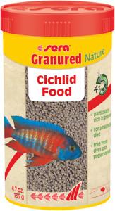 Sera Granured Nature Colour Pellets 135g / 250ml Aquarium Fish Tank Cichlid Food