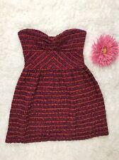 Roxy Dress Min Skirt Strapless Stretching Size Medium