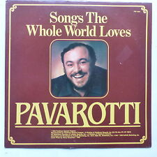 PAVAROTTI Songs the whole world loves PSP 5001