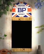 BP Motor Oil Man Cave Blackboard Chalkboard Message Wood Wall Display Sign