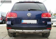 VW Touareg 02-10 Rear Bumper spoiler lip Valance addon R-Line R50 Off road abt