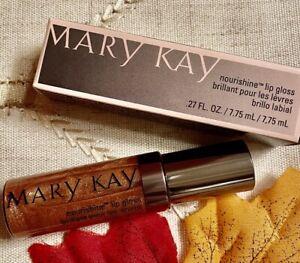Lot Of TWO Mary Kay Nourishine Lip Gloss Beach Bronze 016978