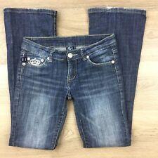 Rock & Republic Women's Jeans Boot Cut Size 27 Actual W29 L31 (AN4)