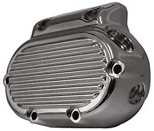 CHROME RIBBED TRANSMISSION END COVER HARLEY BIG TWIN 5 SPEED FITS BIG TWINS 87+