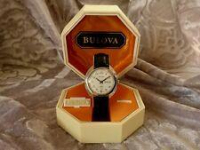 Bulova 1973 'JET STAR' vintage automatic watch Box 11BSACB Day White dial Retro