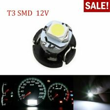 10X T3 1SMD 1210 LED Car Interior Light Dashboard Map Instrument Lamp Bulb White