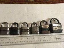 6 - Antique Vintage Old Padlock Miscellaneous locks, NO KEYS