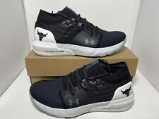 Under Armour Project Rock 2 Hovr Black Size 12 Men's Training Shoes 3022024-101