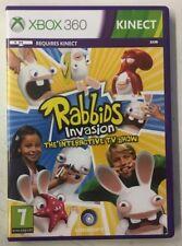 Rabbids Invasion: el programa de televisión interactiva Microsoft Xbox 360 Nuevo No Sellado