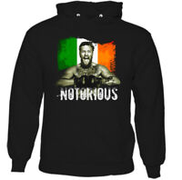 CONOR MCGREGOR HOODIE MMA UFC Mixed Martial Arts Boxing Training Top Gym Tee