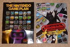 Original Nintendo NES 8 Bit Rob the Robot & Now Your Playing with Power Poster