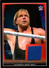 WWE Jack Swagger 2015 Topps Road To WrestleMania Event Used Shirt Relic Card DWC