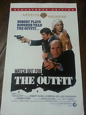 2013 SDCC WONDERCON WARNER BROS ARCHIVE MOVIE POSTER THE OUTFIT DUVALL BLACK