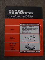 REVUE TECHNIQUE AUTOMOBILE RTA 1973 DS CITROEN FORD ESCORT