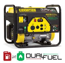 Champion Power Equipment 4375/3500-Watt Dual Fuel RV Ready Portable Generator