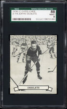 1936-37 V304 O-Pee-Chee Series D #114 Joffre Desilets (Montreal) RC SGC 88