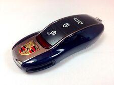 Porsche Painted Key Cap Set OEM DARK BLUE 911 Boxster Cayman Panamera Cayenne