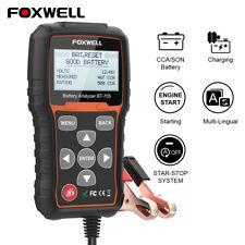 12V 24V 100-2000CCA Battery Analyzer Tester Cranking&Charging System Test Tools
