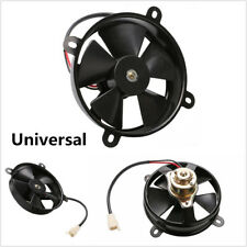 Universal Motorcycle Oil Cooler Water Cooler Radiator Electric Cooling Fan 165mm