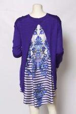Maglie e camicie da donna in seta con scollo a v taglia XL