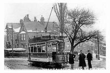 pt3749 - Tram at Nethergreen Terminus , Sheffield , Yorkshire - photo 6x4
