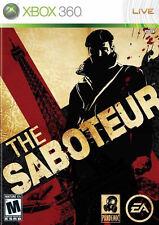 Saboteur Xbox 360 New Xbox 360