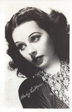1930s RP POSTCARD MOVIE STAR HEDY LA MARR